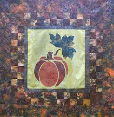 Quilt Kit : The Frost is on the Pumpkin Wallhanging / Pumpkin Pie