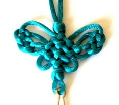 Butterfly knot symbolises love