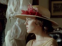 Beautiful performance by Rachael Stirling in Poirot's 'Five Little Pigs'