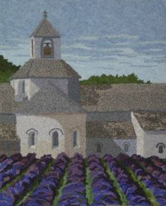 Sénanque Abbey . . . hooked by John Flournoy