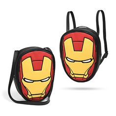 When you're a genius, billionaire, playboy, philanthropist, you need someplace to put your giant wads of cash. Let Iron Man protect them with this Marvel Iron Man Convertible Backpack.
