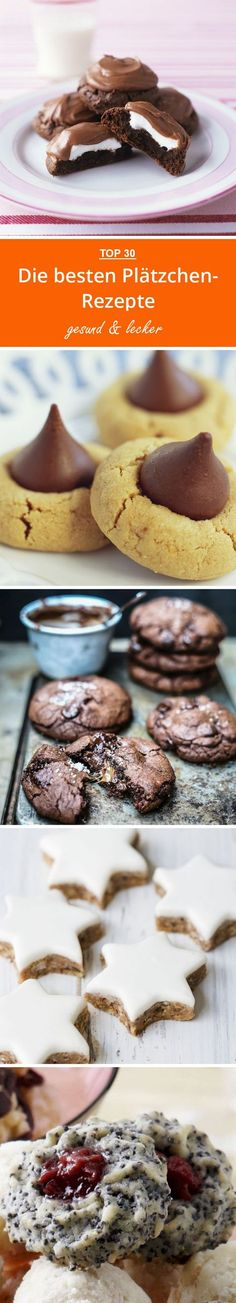 The best cookie recipes- Die besten Plätzchen-Rezepte The Best Cookie Recipes Best Cookie Recipes, Cupcake Recipes, Holiday Desserts, Fun Desserts, Torte Au Chocolat, Homemade Pastries, Pumpkin Cookies, Christmas Baking, Food Cakes
