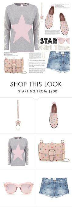 """""""StarGirl Time"""" by fassionista ❤ liked on Polyvore featuring Astley Clarke, RED Valentino, Cocoa Cashmere, Karen Walker, Current/Elliott, Ross-Simons and Stop Staring!"""