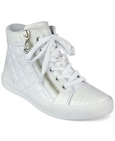 564b814633d G by GUESS Orily Quilted High-Top Sneakers Shoes - Sneakers - Macy s