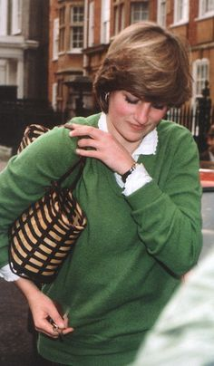 LADY DIANA FRANCES ~ FIRST EXPERIENCE WITH CAMERA'S FOLLOWING HER AFTER WORD LEAKED OUT THAT SHE WAS EXCLUSIVELY DATING PRINCE CHARLES.