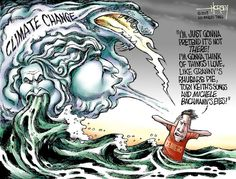 Climate change deniers willfully ignore reality