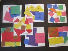 Q - quilt, use patterned paper for the shapes.  also lists a book to read