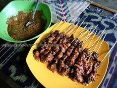 Resep (Satai) Sate Kambing Bumbu Kacang | Resep Masakan Indonesia (Indonesian Food Recipe)