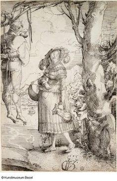 Urs Graf Lagerdirne und Erhangter 1525 by Vanderbruegghen, via Flickr