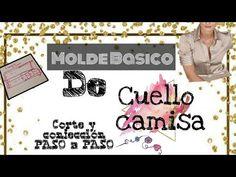 PASO A PASO DE CUELLO CAMISA / Bertha Buritica Clase #5 - YouTube Youtube, Sewing, Crochet, Pattern, Diy, Lace Dresses, Shirt Blouses, Blouse Patterns, Sewing Tutorials