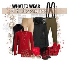 """""""2k16 Blizzard!"""" by maggiecakes ❤ liked on Polyvore featuring Black Diamond, Woolrich, Drome, Portolano, Faliero Sarti, Alice + Olivia, Burberry, H&M, Charlotte Olympia and gx by Gwen Stefani"""