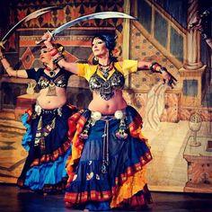 ❤️ Davina tribal. Jen in back  and Amina in front.