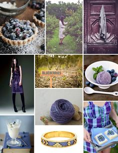Mood Board Monday: Blueberry