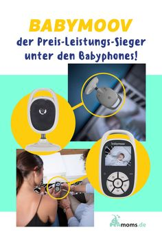 Wusstet ihr dass das #Babymoov #Babyphone der #Preis-Leistungs-Sieger unter den Babyphones ist? Sie eignet sich optimal um das Baby im Auge zu behalten und gibt einem selbst durch die #Videoaufnahme etwas mehr Entspanntheit als ein Babyphone, dass nur Geräuschen wieder gibt! Vox, Baby Zimmer, Videos, Sports, Boy Or Girl, Mom And Dad, Eye, Parents, Hs Sports