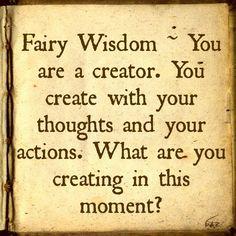 Fairy Wisdom by Elizabeth Saenz from theexpandedgateway.com