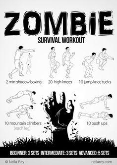 Zombie Survival Workout