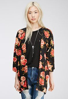 Forever 21 is the authority on fashion & the go-to retailer for the latest trends, styles & the hottest deals. Shop dresses, tops, tees, leggings & more! Cheap Fashion, Fashion Outfits, Forever 21, Flower Fashion, Ideias Fashion, Latest Trends, Cool Style, Kimono Top, Cute Outfits