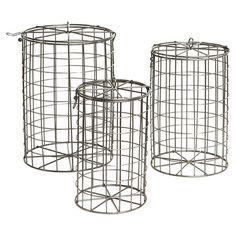 Metal basket set