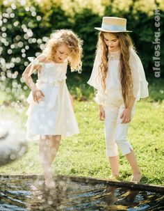 "ALALOSHA: VOGUE ENFANTS: Aristocrat Kids SS2015 collection ""Royal Garden"""