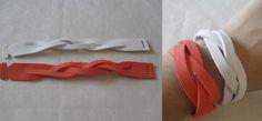 DIY: Pulseras con goma eva - http://www.manualidadeson.com/diy-pulseras-con-goma-eva.html