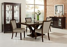 American Signature Furniture  Luna Pearl Dining Room Collection Prepossessing American Signature Dining Room Sets Decorating Inspiration