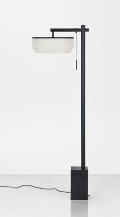 The modern new Chinese style floor lamp【最灯饰】现代新中式T型简约书房落地灯
