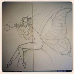 """От эскиза до куклы """"Бабочка"""" (часть первая) - Ярмарка Мастеров - ручная работа, handmade"""