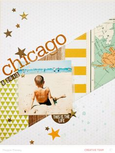 """CHICAGO"" - Maggie Massey for Studio Calico"