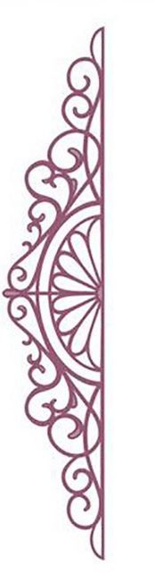 Sue Wilson Designs - Die - Configurations Charming Lace Trim,$9.99