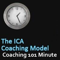 This Coaching Skills audio is brought to you by #CoachCampus.  The ICA Coaching Model is a reference for students to create their own unique model. It has a self awareness focus that leads to bold, consistent action. #Coaching101