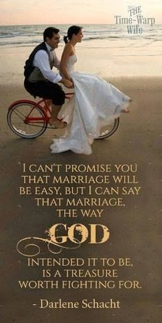 Marriage the way God intended it to be...