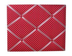 Red Polka Dot Memo Board