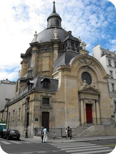 Rue St. Antoine, Eglise Réformée du Marais, 4eme