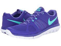 Nike Flex 2014 Run Dark Concord/Purple Haze/White/Hyper Jade