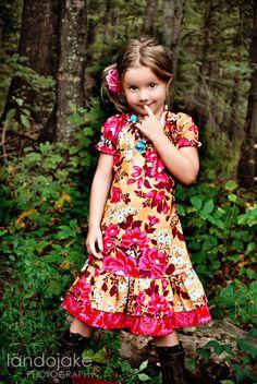 Girls Louise Dress by 1crown3tiaras on Etsy, $42.00