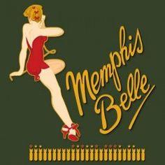 Memphis Belle nose art B-17