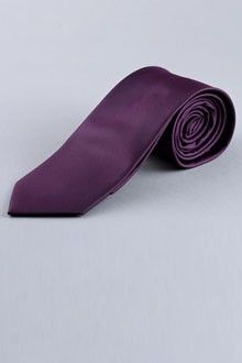 Solid Purple Tie | Indochino