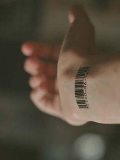barkod erkek bilek dövmeleri barcode wrist tattoos for men