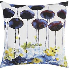 Myrtle 18 Pillow in Decorative Pillows | Crate and Barrel