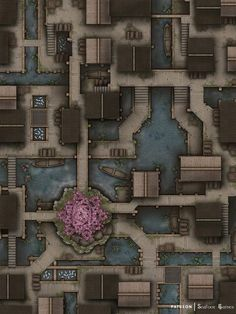 Dungeons And Dragons Homebrew, D&d Dungeons And Dragons, Dnd World Map, Pen And Paper Games, Scale Map, Rpg Map, Dungeon Maps, Fantasy Map, Map Design