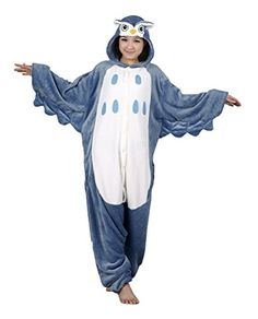 Introducing Tonwhar Owl AdultSized Costumes Pajamas Luxury Flannel Animal Onesies LHeight170cm557180cm59. Get Your Ladies Products Here and follow us for more updates!