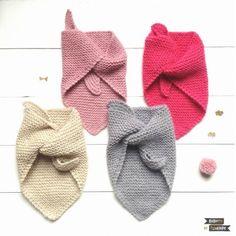 Le tuto du chèche bébé. Voici un DIY de tricot parfait et ravissant pour que les tous petits n'aient pas froid au cou lorsque les températures chutent !