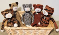 Cute Cats by woolhousecasalana on Etsy