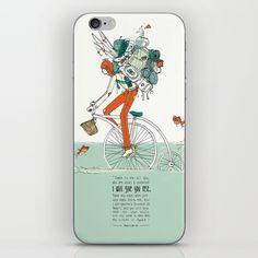 Burdened Biker - Matthew 11:28-30 iPhone & iPod Skin