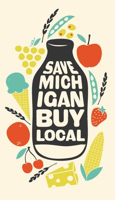 don't live in Michigan, but like the graphics by Amanda Jane Jones!