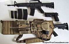 AR Scabbard ar-15 scabbard case weaponwearconcealment.com weaponwear riffle case tactical conceal tan