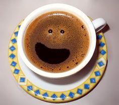 Sorria, seu café te ama! Bom dia!