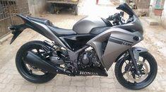 Honda Matte Grey Edition by Star Racing (Gujarat) Bike Photo, Projector Headlights, Cbr, Alloy Wheel, Shades Of Black, Dream Catcher, Honda, Racing