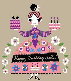 Creative Review - Happy birthday Lilla