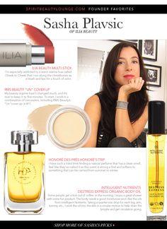 Ilia Beauty Founder's Favorites   The Distillerist